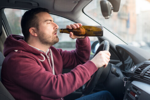 Driving Under the Influence of Alcohol Is a Big NO